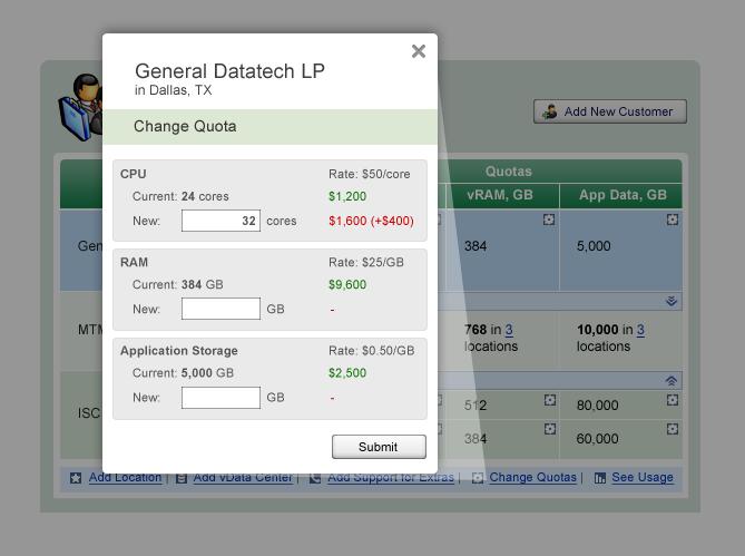 Customers-Dashboard-Change Quotas